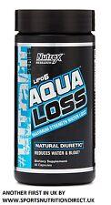NUTREX AQUA LOSS 80 CAPS FAT BURNER WEIGHT WATER LOSS DIURETIC FREE TRACKED