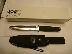 SOG S25 Desert Dagger, Seki, Japan, Original Sheath & Box, NOS