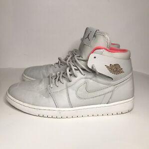 Nike Air Jordan 1 Retro High Nouveau 'Pure Platinum' Men's Size 12 819176-050
