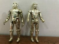 Star Wars Vintage C-3PO Droid Action Figures Lot GMFGI 1977 Kong LFL 1982