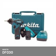 Makita DF030DWE 10.8V 2x1.3Ah Ladegerät Akkuschrauber Tasche Kunststoff Hartschale UPS Versand