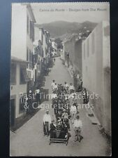 Old PC - Portugal: Madeira - Carros do Monte - Sledges from the Mount