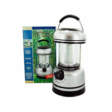 DUAL SUPER POWERED LED LANTERN / LIGHT SIGNATURE COLLECTION CAMPING FISHING