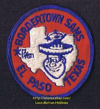"LMH Patch 1970s GOOD SAM CLUB Samboree Rally BORDERTOWN SAMS  El Paso TX Star 3"""