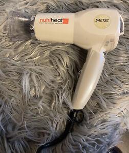 Nutriheat Hairdryer by Imetec, Folds Up For Travel /Storage VGC