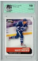 Auston Matthews 2017 S.I. for Kids #593 Austin Rookie Card PGI 10