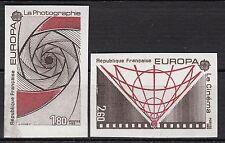 FRANCE  TIMBRE NEUF N° 2270 / 2271  **  NON DENTELE  EUROPA  COTE 115 EUROS