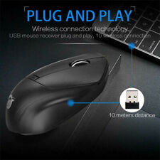 W11 2.4GHz Wireless Mouse 1600 DPI 4 Buttons Mute Silent Mice For Laptop PCL ZQA