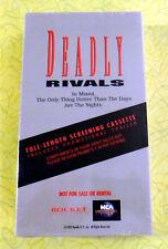 Deadly Rivals ~ New VHS Movie Screener Promo Demo Tape ~ Rare Video