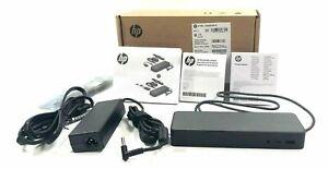 NEW HP USB-C Laptop Docking Station With 90w AC Elitebook 1040 G4  ProBook x360