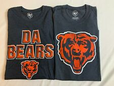 Lot of 2: New '47 Men's Chicago Bears Short Sleeve T-Shirts, L