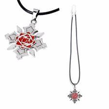 Anime Vampire Knight Steel Kuran Yuuki Pendant Necklace Cosplay Silver Color New