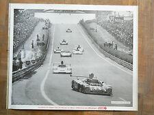 Affiche  24 HEURES DU MANS    1978  Renault   Porsche     Départ        Le Mans