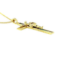 Elvis Presley - Mother of Pearl Crucifix - Gold Plated