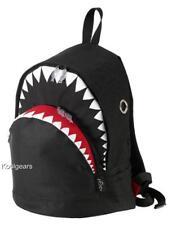 SHARK Backpack LARGE Morn Creations thunderbolt BLACK jaws week bag dolphin seal