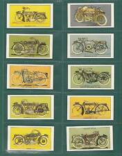 MOTOR CYCLES - 50 SETS OF 20 -  D.C. THOMSON  ' MOTOR  CYCLES '  CARDS  REPRINTS