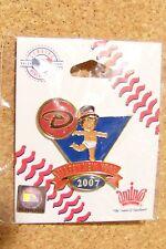 2007 Arizona Diamondbacks Baby New Years pin