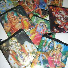 Kleingeldbörse 5 Stück Kleingeld  Börse Indische Götter Indien Goa Hippie