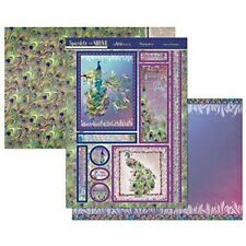 Peacock Paradise Card Making Kit Paper Crafting Hunkydory Sparkle905 New