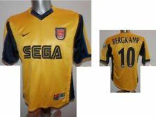 Rare 1999-01 FC Arsenal Bergkamp #10 Away Football Shirt Soccer Jersey size S