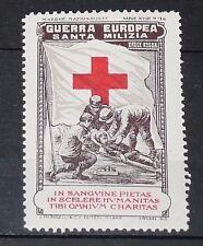 DELANDRE CINDERELLA 1915 ITALIE GUERRE 14-18 MARUCELLI SANTA MILZIA CROIX ROUGE