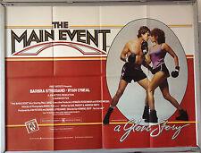 Cinema Poster: MAIN EVENT, THE 1979 (Quad) Barbra Streisand Ryan O'Neal