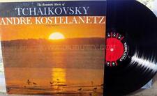 Andre Kostelanetz THE ROMANTIC MUSIC OF TCHAIKOVSKY - CS8112 Vinyl LP   VG+