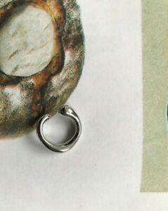 Silver Thin Ear Cuff (minimal casual weekday cos arket)