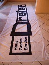 Haus Geräte Service Dreier Hochformatflagge Vollpolyester Plus 150 x 400 cm