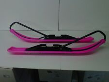 UNI-SKI ASSEMBLY COMPLETE WITH MODULE & STANDARD RUNNERS, (PR), PINK