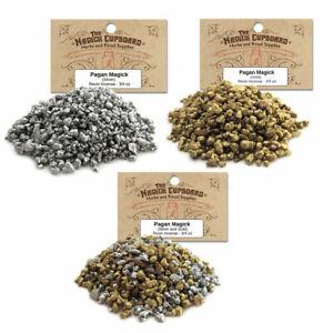 Pagan Magick Resin Incense 3/4 oz Bag - Choose Gold, Silver, or Mixed!