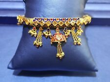 22K Yellow Gold Designer openable Bracelet in Sold Yellow Gold