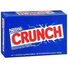Nestle Crunch Creamy Chocolate With Crisped Rice Bars