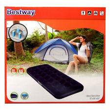 Bestway aufblasbare Matratze Luftmatratze Camping Gästebett 185 x76 x22 cm blau