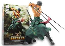 NEW One Piece Scultures Big Modeling King Special Roronoa Zoro Action Figure /B1