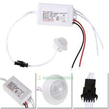 Automatic Light Bulb AC 220V IR LED Strip PIR Infrared Motion Sensor Switch (S99