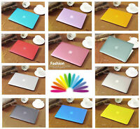"""Crystal hardshell case keyboard cover For Macbook Air Pro 11"""" 12 13"""" 15"""" 16"""" Mac"""
