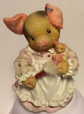1997 Enesco Tlp This Little Piggy I'M Not A Dust Collector Miss Piggy 298093