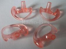 Gel Ear Mould Earpiece  FOUR PACK Large Left for Acoustic Tube  Universal