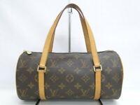 Louis Vuitton Papillon 26 Hand Bag M51386 Monogram Leather Brown 41170510900 K
