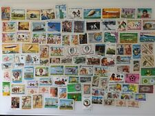 More details for 200 different mauritania stamps collection