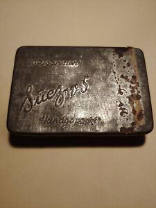 alte  Eckstein Zigarettendose, Zigarettenschachtel, Blechschachtel,