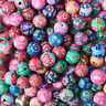 200pcs Mixed Color Round Handmade Polymer Clay Beads 8mm DIY Jewelry Making