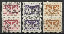 ETHIOPIA 1951 POSTAGE DUES USED