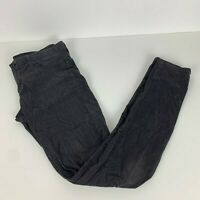 AG Adriano Goldschmied Pants Women Size 27R Black The Legging Super Skinny