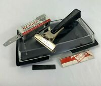 VTG Stainless Schick Injector Razor USA M-63-66 BS Item Number 264 Travel Case
