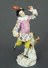 Meissen Figur, Tanzender Schäfer, Mod-Nr. 61120, H=17 cm, 1.Wahl