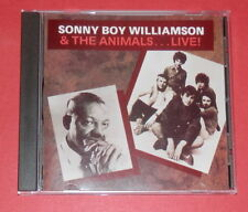Sonny Boy Williamson & The Animals - Live! -- CD / Blues