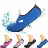 Unisex Slip On Sea Surf Beach Water Socks Shoes Exercise Yoga Swim Diving Pool