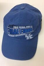 KENTUCKY WILDCATS CHAMPIONS Final Four 2012 BLUE ADJUSTABLE NCAA